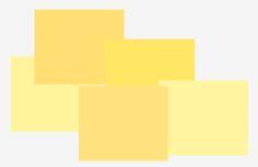 Jarné farebné typy - žltá farba je obsiahnutá vo všetkých odtieňoch