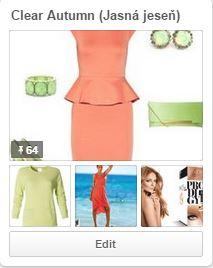 Farebné typy na Pinterest - farebná typológia.