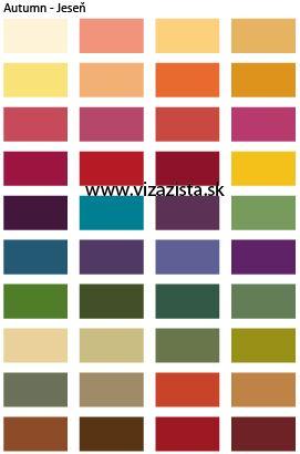 10a8b3766f76 Jesenný-typ-farby-základná-paleta - Vizazista.sk