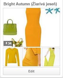 Žiarivá jeseň - teplá jeseň, farebné typy na Pinterest, farebná typológia