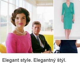 elegantý štýl