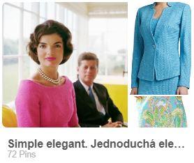 ečlegantný štýl dámskeho odievania