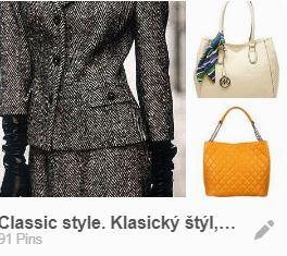 klasický štýl dámskeho odievania