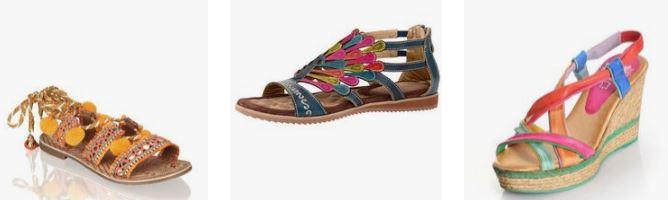 kreatívny štýl - obuv