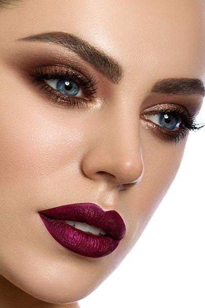foto make-up, večerné líčenie