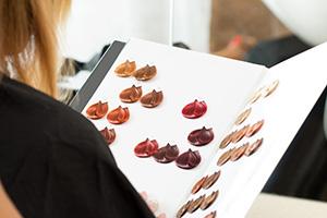 kadernícky katalóg farieb na vlasy