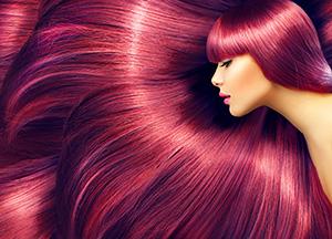 farba vlasov mahagon, chladná