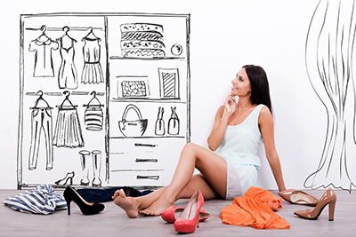 zmena šatníka - stylistka - stylista